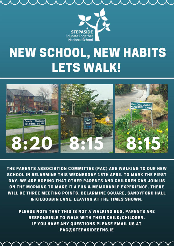 walk with us to school - Educate Together